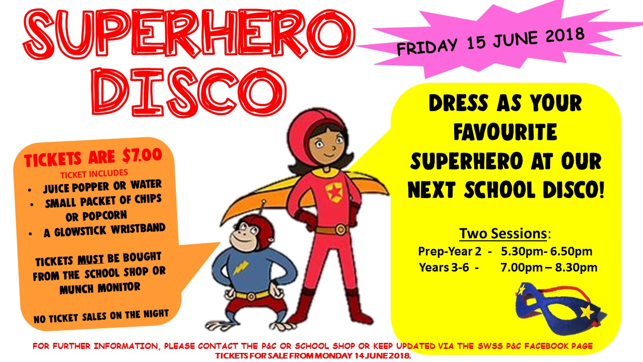 Superheroes Disco